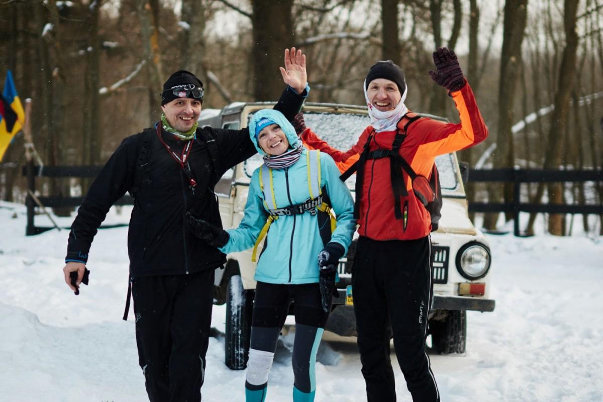 100 кілометрів – у лютий мороз: як на Волині пройшли екстремальні змагання «Доброволець». РЕЗУЛЬТАТИ