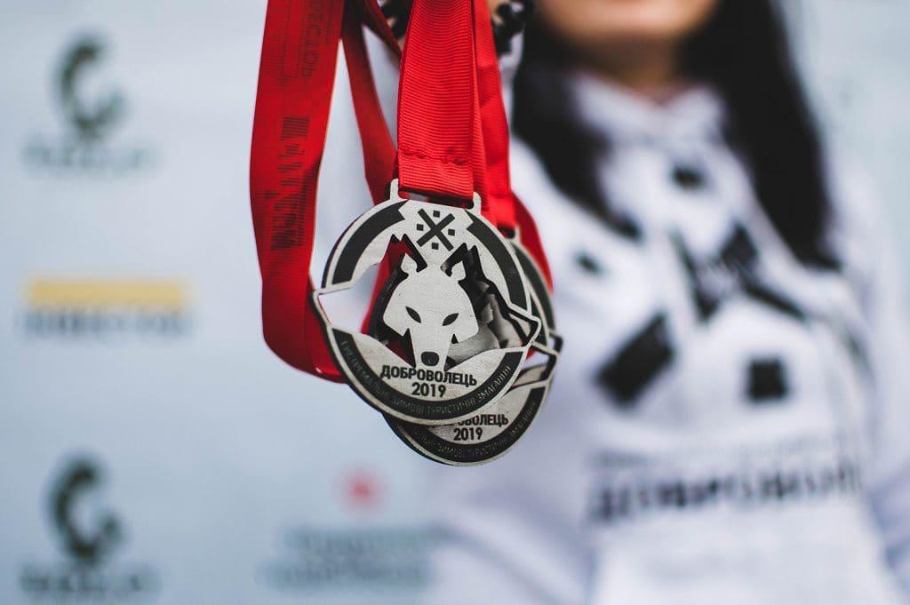 Медалі та кубки «Добровольця» від рекламного агентства City Run!